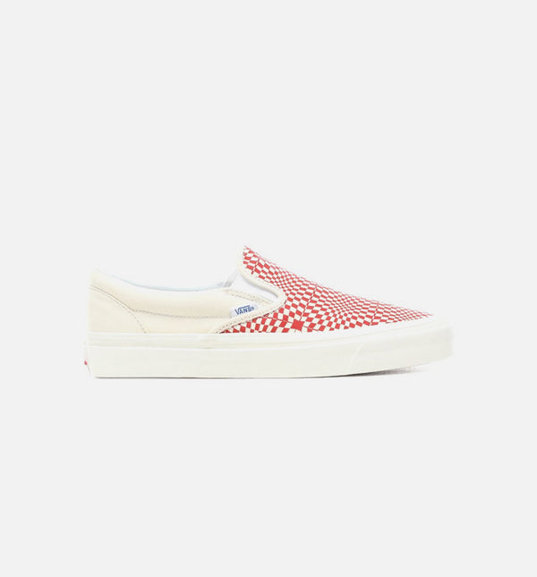 ANAHEIM FACTORY SLIP ON 98  DX MENS SHOE - OG RED/WHITE