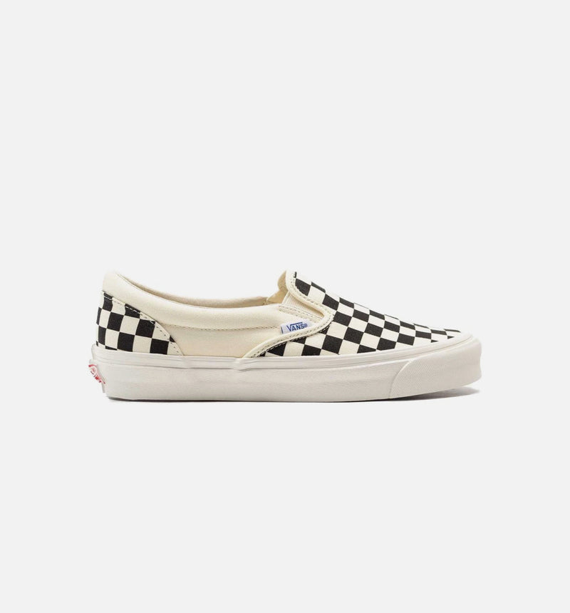 VANS OG CLASSIC SLIP ON LX MEN'S - WHITE/BLACK