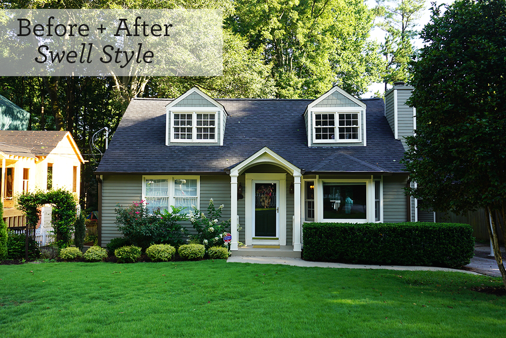 A Cottage: Before & After