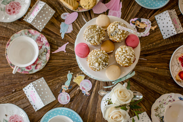 Toddler Tea Party: Table Decor