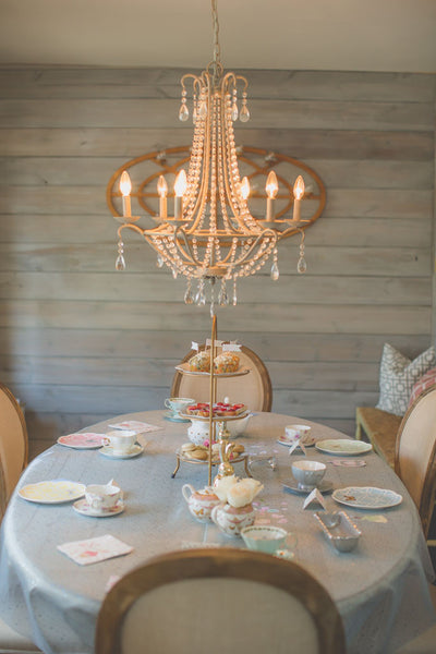 Tea Party Table Settings