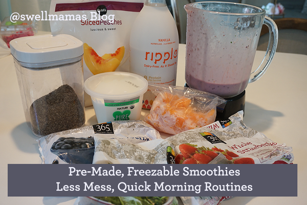Amazingly simple and nutritious premade smoothies for kids