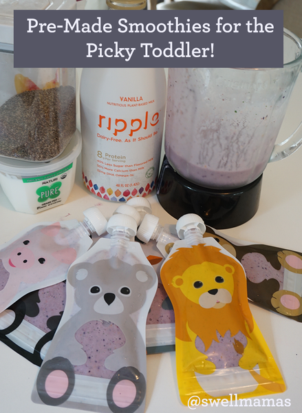 Healthy Toddler Smoothies