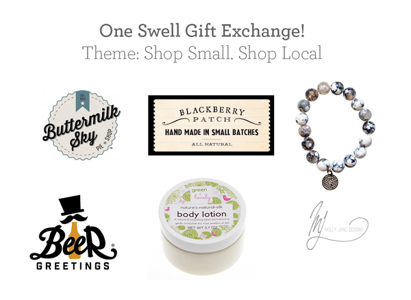 Shop Small Gift Exchange: White Elephant Party Ideas