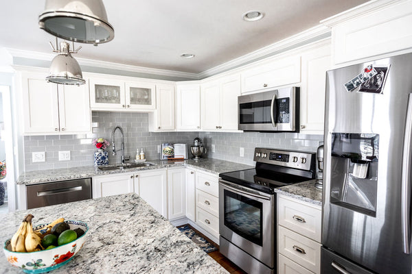 Open kitchen remodel in cape cod