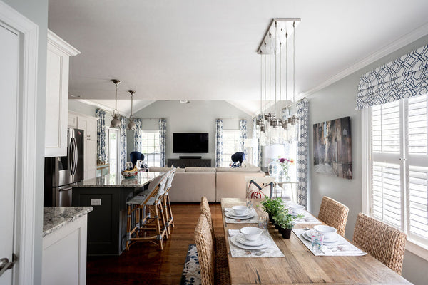 Transitional Dining Room Makeover