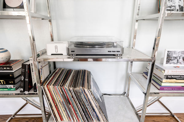 Music Room: Incorporating Records in Design