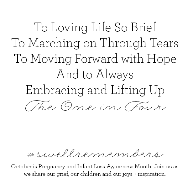 Pregnancy and Infant Loss Awareness: Swell Forever