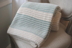 The Caroline Forever Blanket {throw} by Swell Forever: Aqua