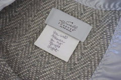 Handwritten personalized message tags from Swell Forever. Forever Blanket for baby. Heirloom, heartfelt custom gifts. Made in USA. Handmade. Support Adoption.