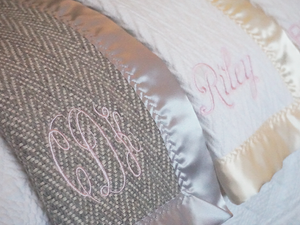 Forever Blanket {baby} Personalized and Monogrammed | Swell Forever | Made in USA