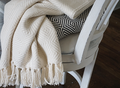 The Owen Forever Blanket {throw} in Alpaca by Swell Forever. Beautifully and classic diamond patterned blanket with heavier weight for cold winter nights. Our best seller and new solid colors make this throw even more versatile. Charcoal and cream. Comes with personalized message tags. Perfect for weddings, couples gifts, bridesmaid gifts, engagement gifts, best friend gifts, moving gifts, grandparent gifts, birthdays, parents weddings gifts, anniversaries and more. We support adoption.