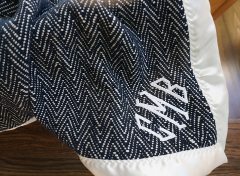 The Wilder Forever Blanket® {baby} NAVY FABRIC