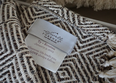 The Michael Forever Blanket | Swell Forever | Perfectly Personalized | Alpaca | Made in USA | Alpaca Blended Throw | Wedding, Anniversary, Birthday Gifting