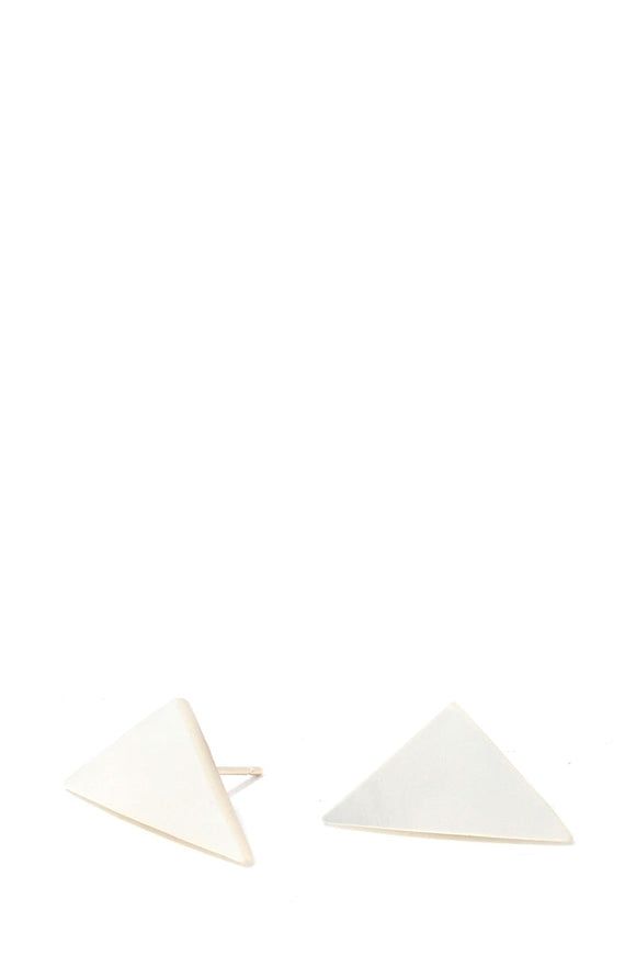 Triangular Shape Post Earring