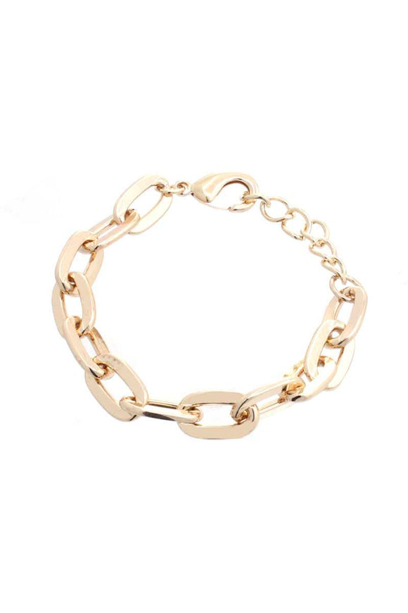 Sodajo Basic Metal Chain Bracelet