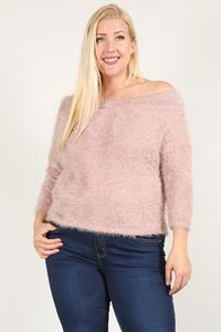 Textured Long Sleeve Top