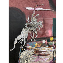 Load image into Gallery viewer, Don Quixote, Unfinished Deconstructions #4 - poem20artgallery