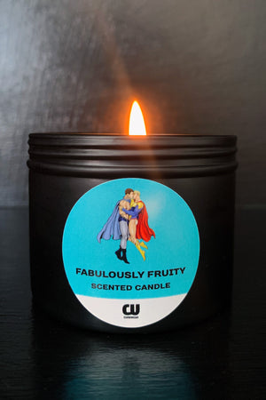 Kissing Heroes Fruity Candle