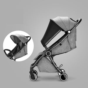 Automatic One Hand Folding Luxury Fashion Baby Stroller Portable Travel System