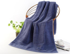New Arrival 70*140cm 650g Thick Luxury Egyptian Cotton Bath Towels,Solid SPA Bathroom Beach Terry Bath Towels for Adults Hotel