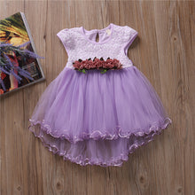 Load image into Gallery viewer, Baby Girls Floral Princess Dress Toddler Infant Baby Girls Clothes 2017 New Arrival Summer Fashion Dress Party Dresses Age 0-3Y