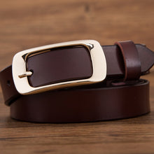 Load image into Gallery viewer, Fashion brand 100% genuine leather women belt