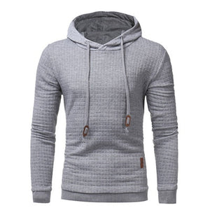 Men Sweatshirts Classic Men's Hooded Casual Sweatshirt  Men's Hoodies Big Size Available