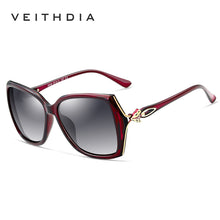 Load image into Gallery viewer, VEITHDIA Retro Womens Sun glasses Polarized Luxury Ladies Brand Designer Sunglasses Eyewear For Women Female V3039