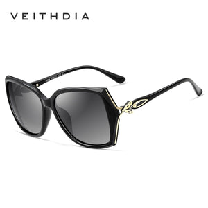 VEITHDIA Retro Womens Sun glasses Polarized Luxury Ladies Brand Designer Sunglasses Eyewear For Women Female V3039