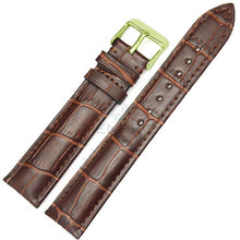 Load image into Gallery viewer, Watchbands 100% Genuine Leather Men Watch Strap Band Fashion Women Soft Bracelet 18mm 19mm 20mm 21mm 22mm 24mm Belt Accessories