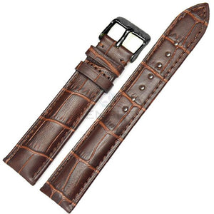 Watchbands 100% Genuine Leather Men Watch Strap Band Fashion Women Soft Bracelet 18mm 19mm 20mm 21mm 22mm 24mm Belt Accessories