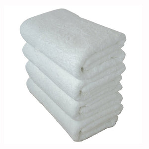 Soft 70x140cm Luxury Hotel Spa Bath Towel 100% Turkish Cotton White HU