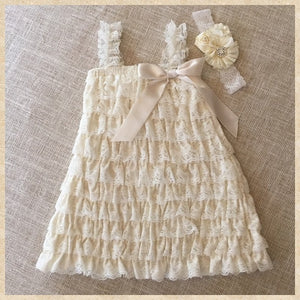 Toddler Girls Dress Summer Infant Baby Lace Flower Chiffon Party Clothing