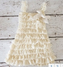 Load image into Gallery viewer, Toddler Girls Dress Summer Infant Baby Lace Flower Chiffon Party Clothing