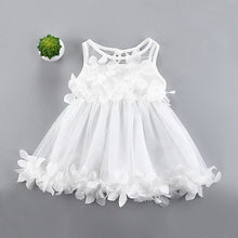 Load image into Gallery viewer, Flower Girl Princess Dress Girl  Summer Infant Baby Girl Cute Veil Dresses Kids's Party Wear Costume Girl Children Clothing