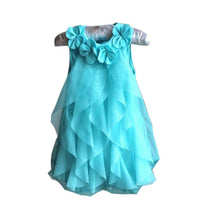Load image into Gallery viewer, New Girls Birthday Party Dresses Jumpsuits Baby Girls Flowers Infant Romper Dress Children Dress Baby Clothes X16