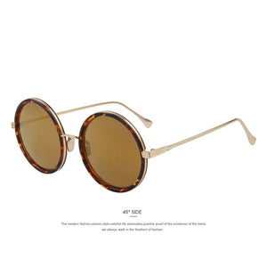 MERRYS Fashion Women Round Sunglasses Brand Designer Classic Shades Men Luxury Sunglasses UV400