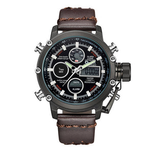 Military Dual Time Digital Watch