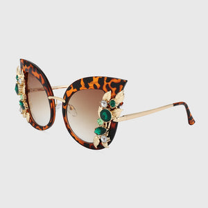 New Cat Eye Sunglasses for Women Luxury Brand Designer Sunglasses Mirror Shades lunette femme Oculos xx003
