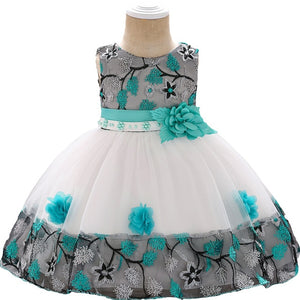 Summer baby dress for Girls Clothes Newborn Infant Baby Dress Kids Party  Princess Tutu For Girls 1st birthday Dresses girls NEW