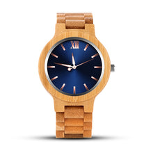 Load image into Gallery viewer, Fashion Men's Wood Watch Luxury Wooden Watch Men Watch Unique Full Wood Men's Wrist Watches
