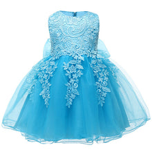 Load image into Gallery viewer, Baby Girl Dress 2018 Christmas Clothes Lace Tutu Dress Vestido Infant Party Dresses For Baby Girl First 1 Year Birthday Dresses