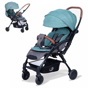 Baby Stroller Portable Travelling Pram Lightweight Pushchair Face to Face