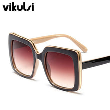 Load image into Gallery viewer, Women's Chic Sunglasses Metal Sides
