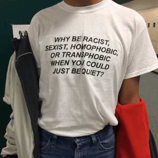 T-shirt LGBT<br/> Why