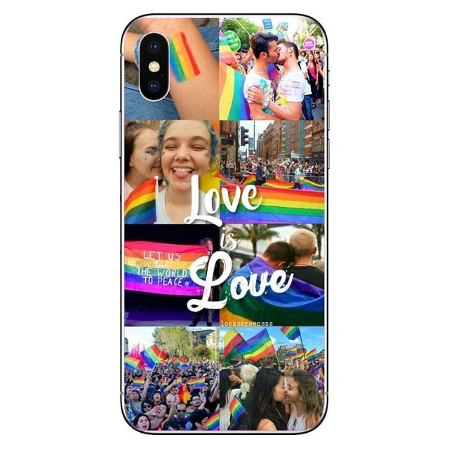 Coque iPhone<br/> Gay Pride