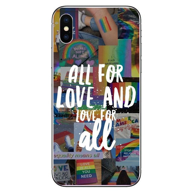 Coque iPhone<br/> all LGBT