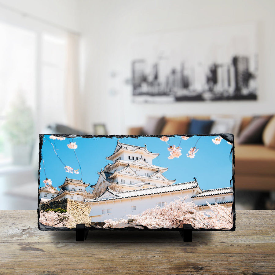 Himeji Castle With Spring Cherry Blossoms, Japan cmzart 15 x 30 cm