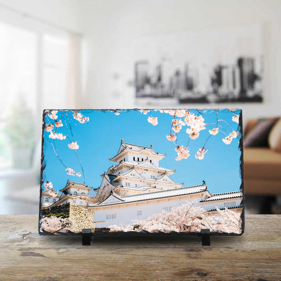 Himeji Castle With Spring Cherry Blossoms, Japan cmzart 20 x 30 cm
